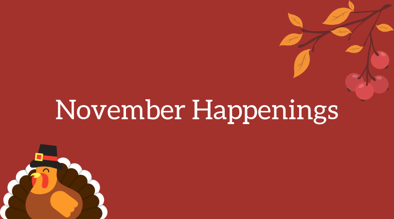 Image result for november happenings""